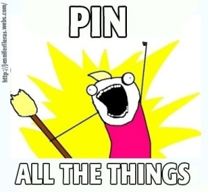pin all the things