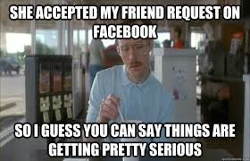 Friend Request on Facebook