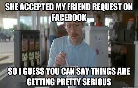 Friend Request on Facebook