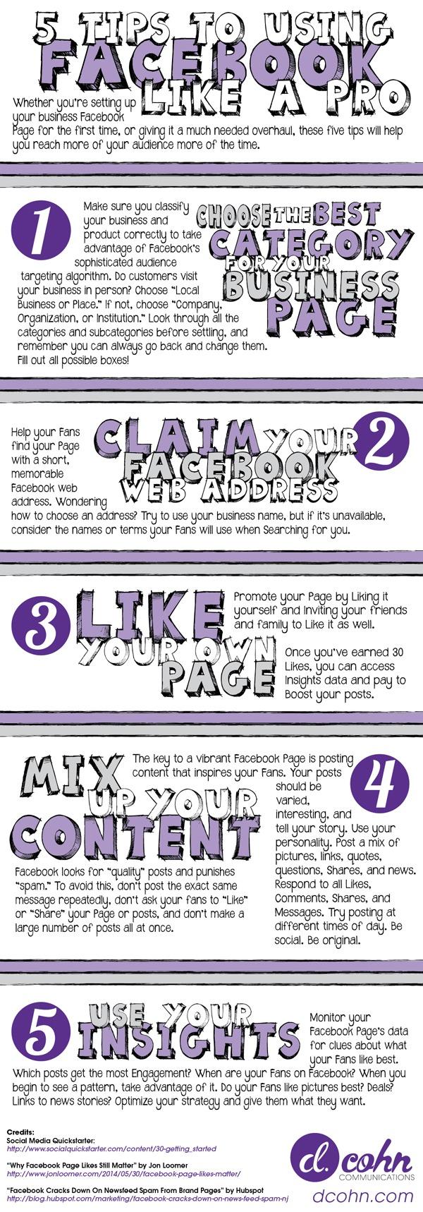 5 Tips Facebook Pro